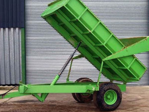 Tipping Trailer Hire